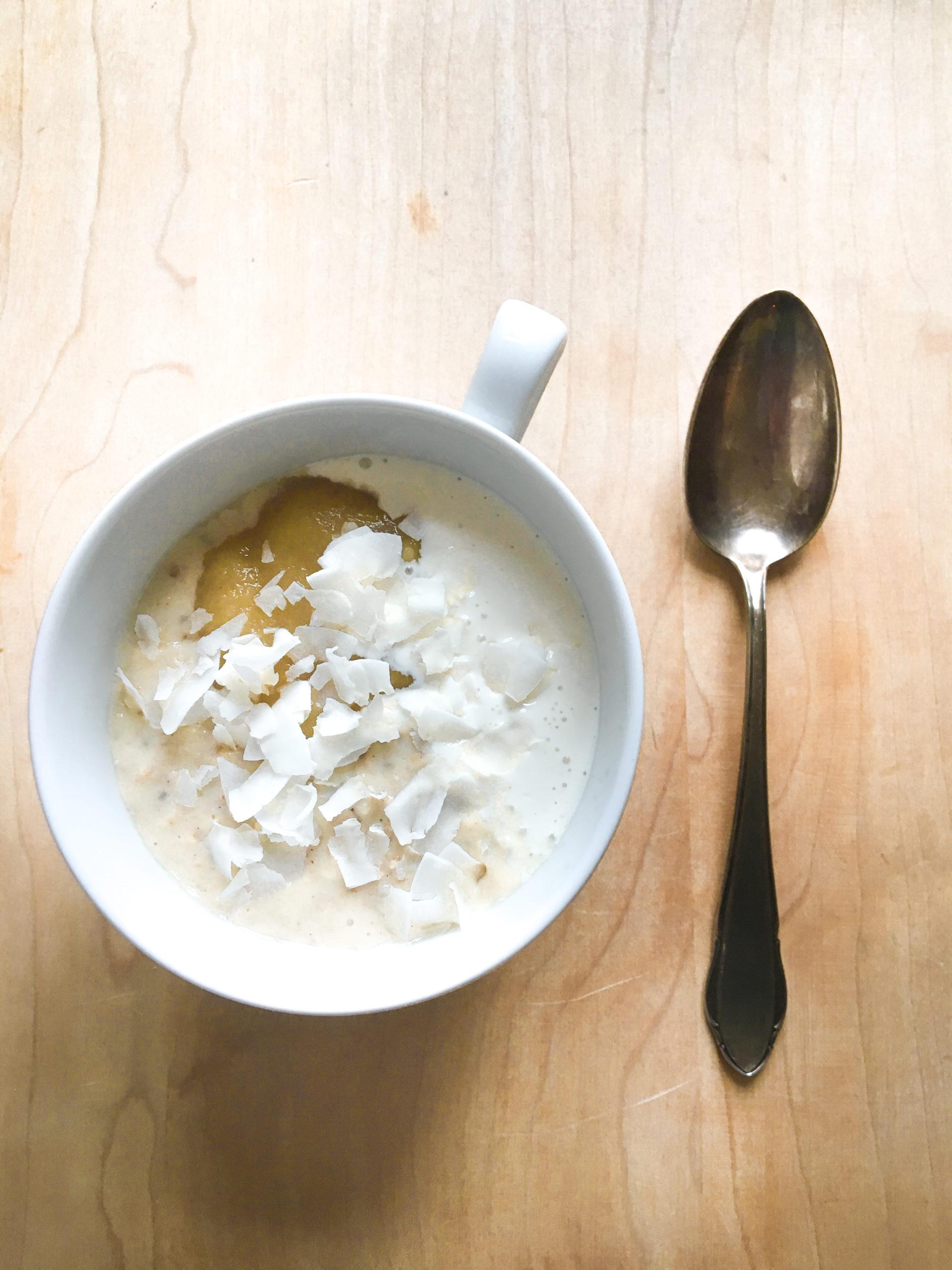Apfel – Zitronen – Porridge